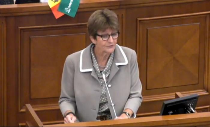 """(video) Președinta APCE: În Moldova se vorbește limba """"moldovenească"""""""