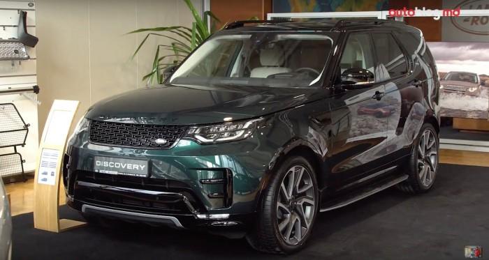 (video) Prezentare statică: Am făcut cunoștință cu noul Land Rover Discovery 5