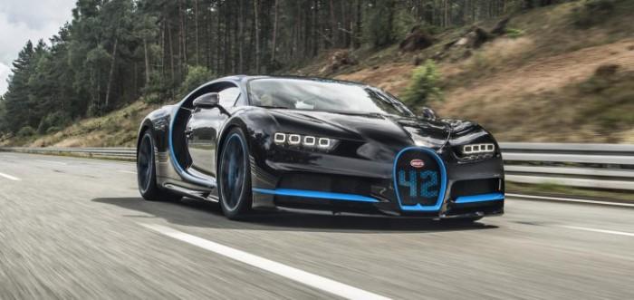 (video) Record mondial: Bugatti Chiron este cea mai rapidă maşină în exerciţiul 0-400-0 km/h