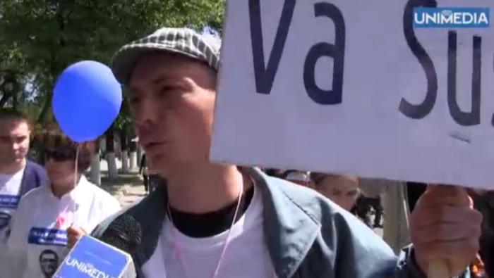 (video) S-au adunat la marș pentru Usatîi