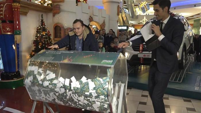 (video) Sărbătorile de iarnă la Shopping MallDova au culminat cu marea tombolă de Crăciun