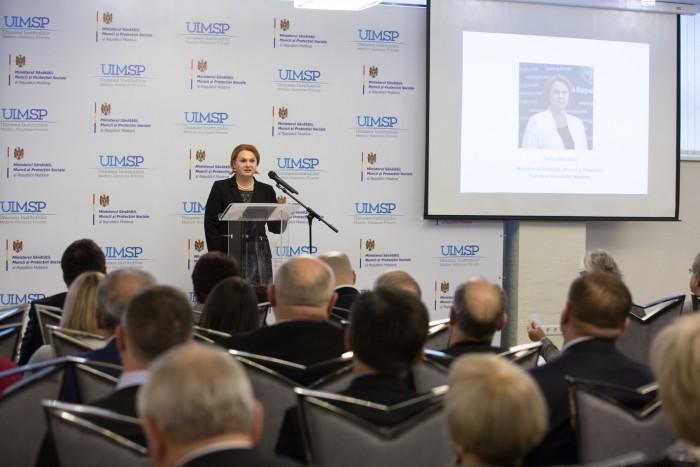 (video) Servicii medicale mai calitative: O conferință organizată de UIMSP a reunit la Chișinău experți din Estonia, Lituania, Georgia, Ucraina, România
