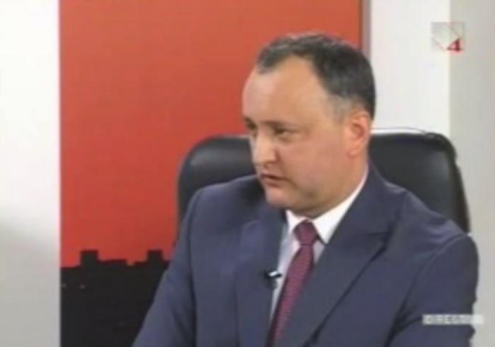 (video) Stop Cadru: Dodon dă de înțeles că ar vota demisia lui Timofti