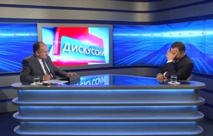 """(video) Stop Cadru: Voronin, moderator la emisiunea """"Povestea de seară"""""""