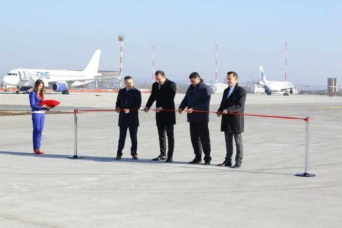 (video) Un nou segment al celei de-a doua piste a Aeroportului Chișinău: 80% din lucrări au fost finalizate