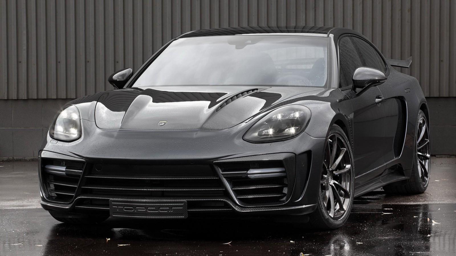 (video) Un Porsche Panamera Stingray GTR Edition by TopCar costă minim 280.000 de dolari