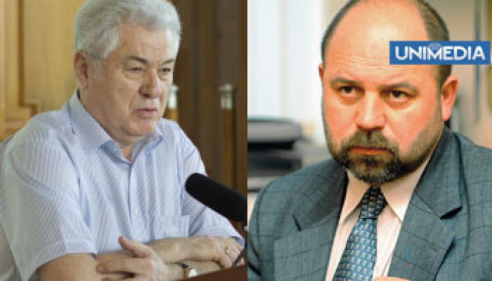 (video) Voronin îl descalifică pe fostul său consilier Reniță