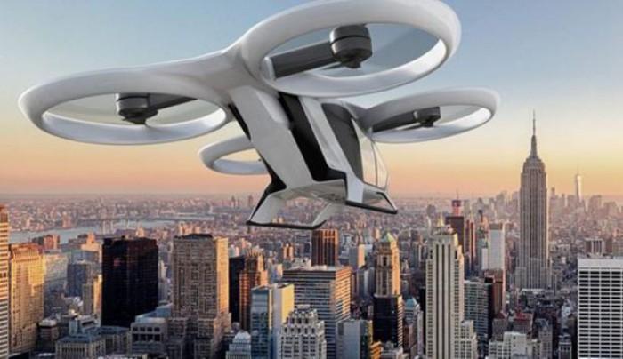 Viitorul este din ce în ce mai aproape: taxiurile zburătoare vor fi disponibile în 2018