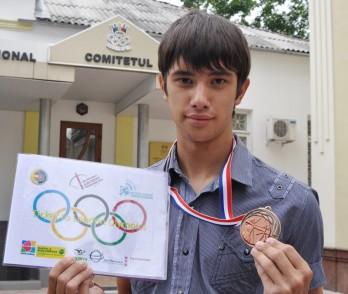 Visul celui mai tânăr participant al RM la Jocurile Olimpice: Să concureze pentru o Românie Mare