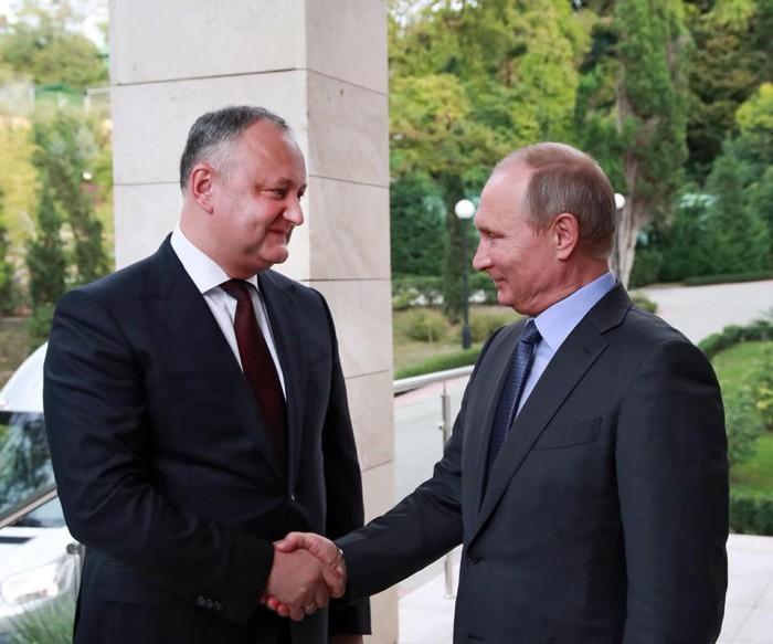 Vladimir Putin: Moscova, dispusă să facă tot posibilul pentru reglementarea conflictului transnistrean