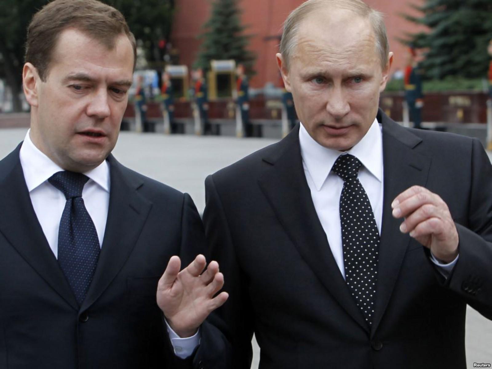 Vladimir Putin și Dmitrii Medvedev au publicat declarațiile de avere pentru anul 2017