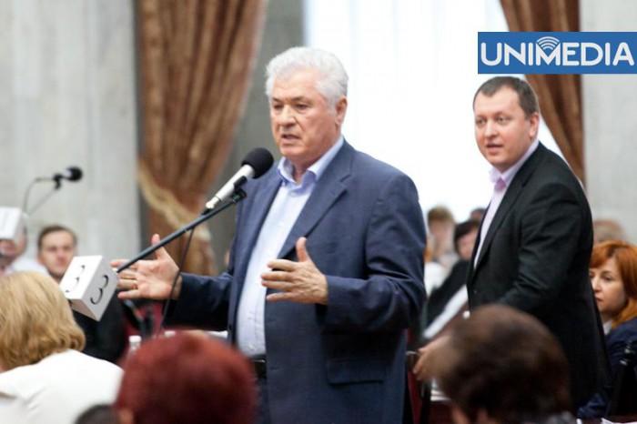 Voronin a anunțat că Petrenco va fi exclus din PCRM