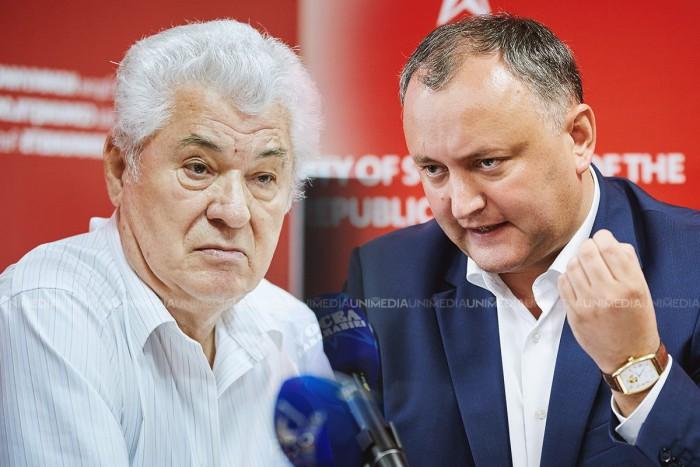 Voronin îl povățuiește pe Dodon: Dacă nu ai ce propune și nu ai ce face în Președinție, poate e mai bine să te duci să prinzi pește?
