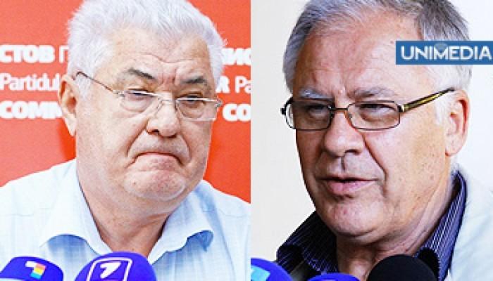 """Voronin susține că Diacov i-a șantajat pe democrați: """"Ori coaliție cu PLDM ori pleacă din partid"""""""