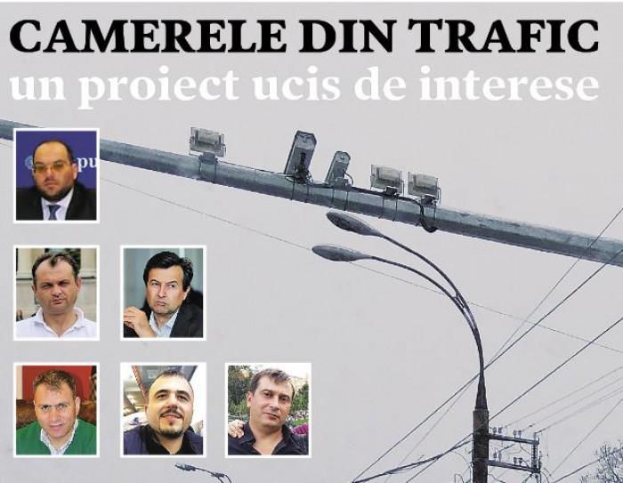 ZdG: Camerele de supraveghere a traficului, un proiect ucis de interese