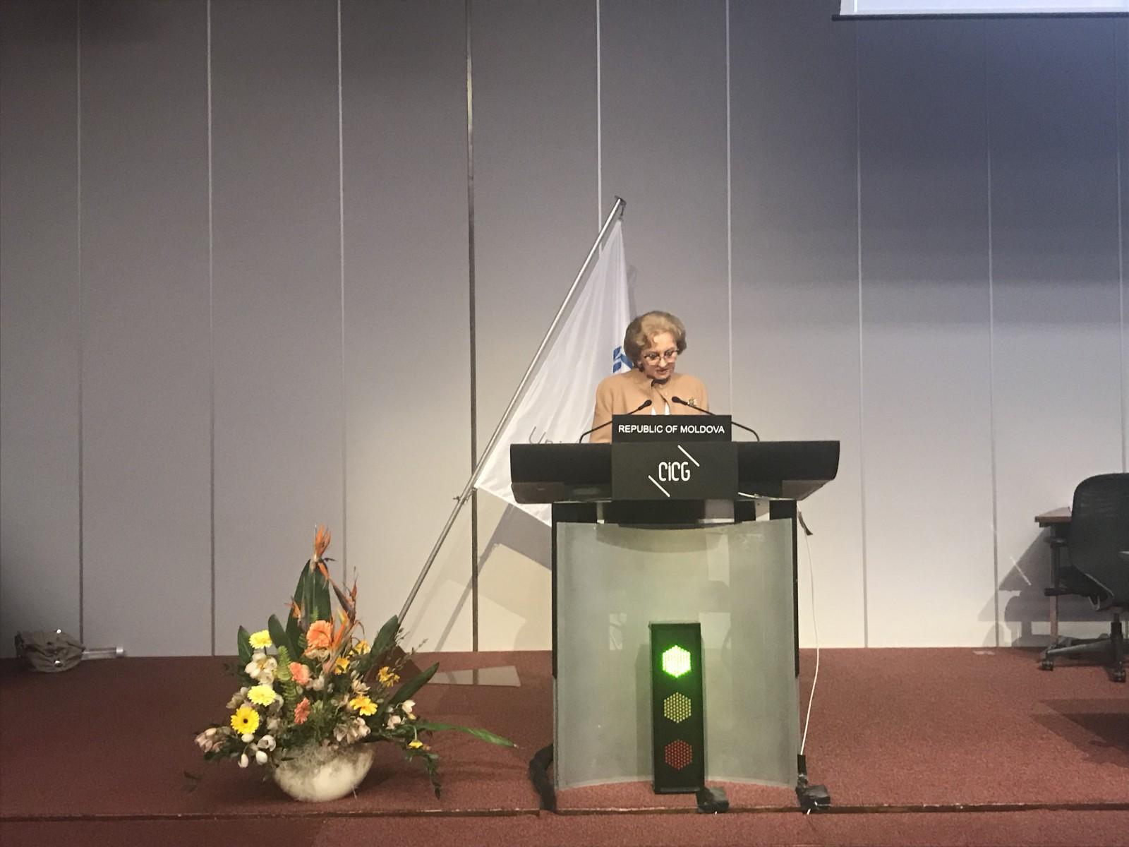 Zinaida Greceanîi a participat la cea de-a 138-a Adunare a Uniunii Interparlamentare