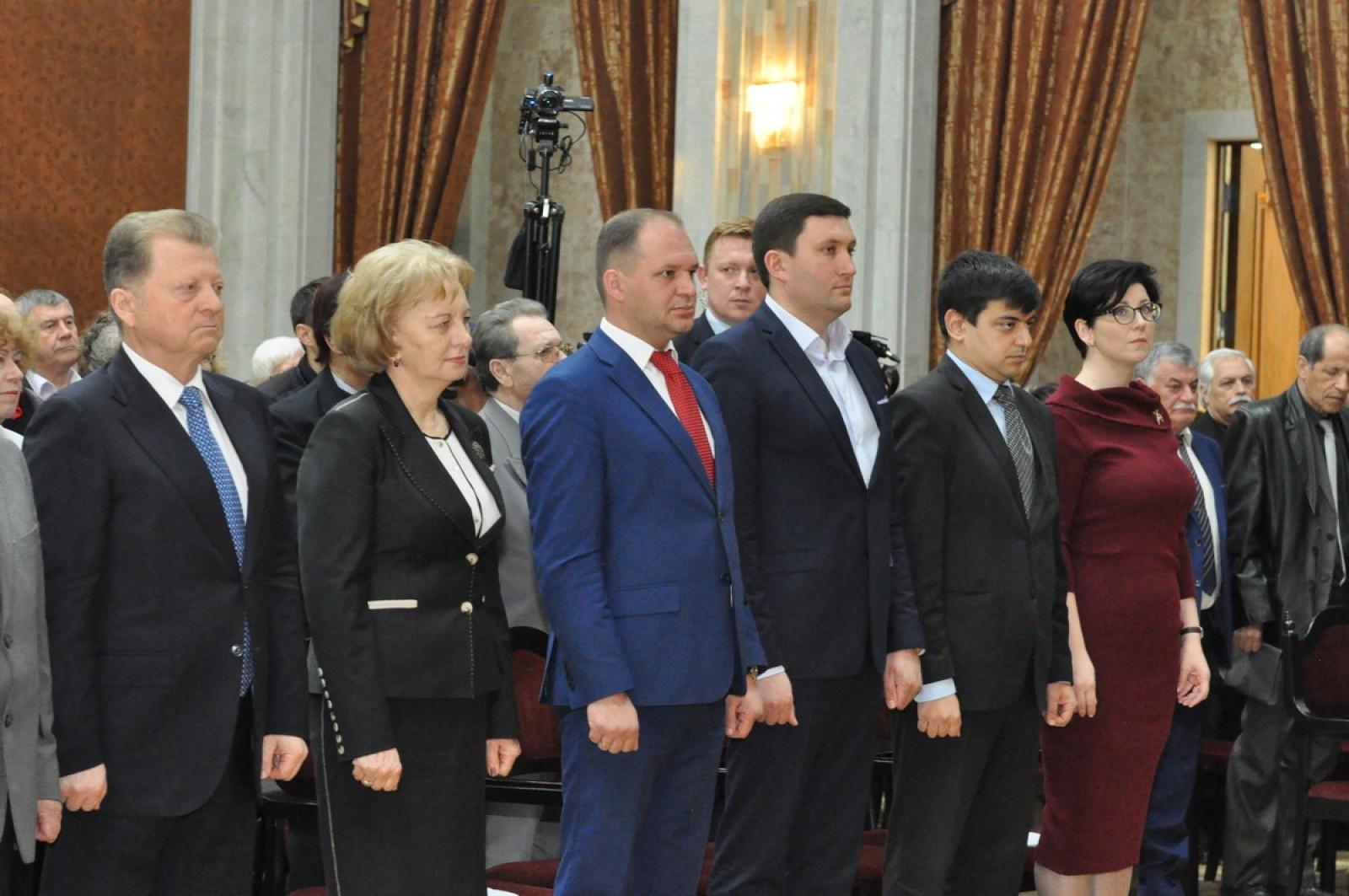 Zinaida Greceanîi și Ion Ceban au participat la Forumul etniilor din Republica Moldova