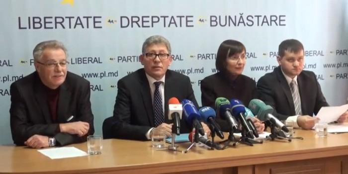 Zis și făcut: Liberalii au înaintat inițiativa de excludere a bașcanului din Guvern