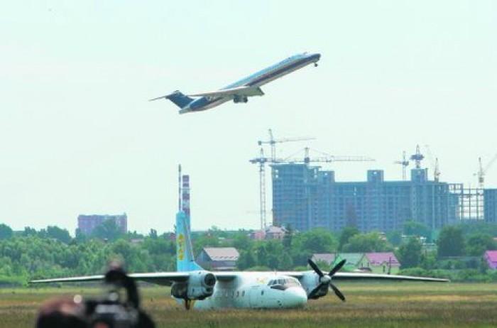 Aeroportul Kiev Zhulhany a înregistrat 64 de curse VIP