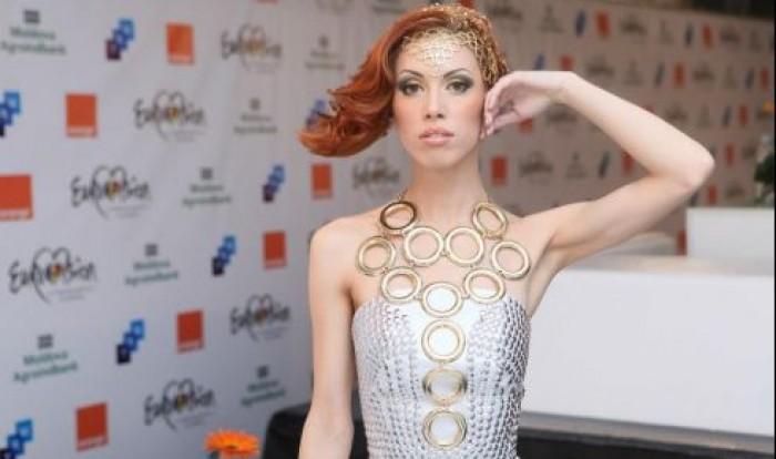 Aliona Moon, satisfăcută că a cântat în română la Eurovision