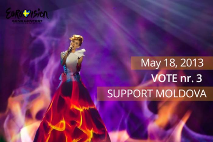 Astăzi, Aliona Moon va cânta în finala Eurovision 2013