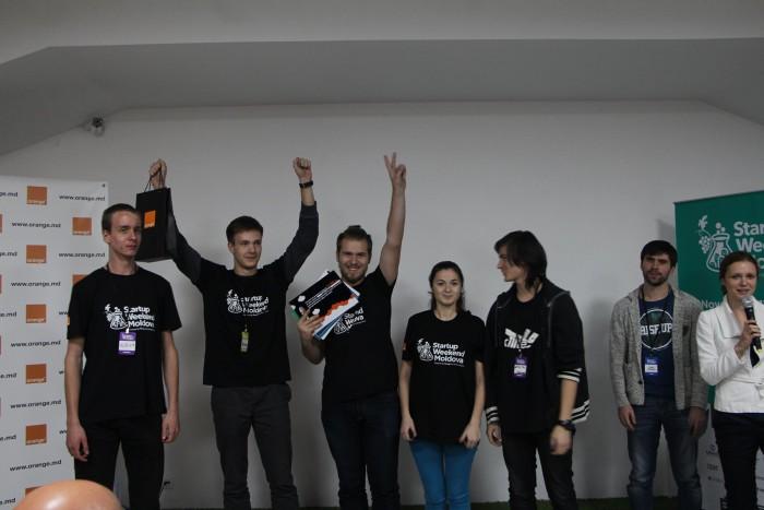 Au fost anunțate premiile ediției curente a Startup Weekend Moldova