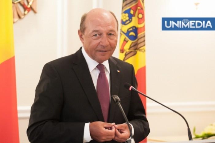 Băsescu: După expirarea mandatului, poate voi cere cetățenia R. Moldova