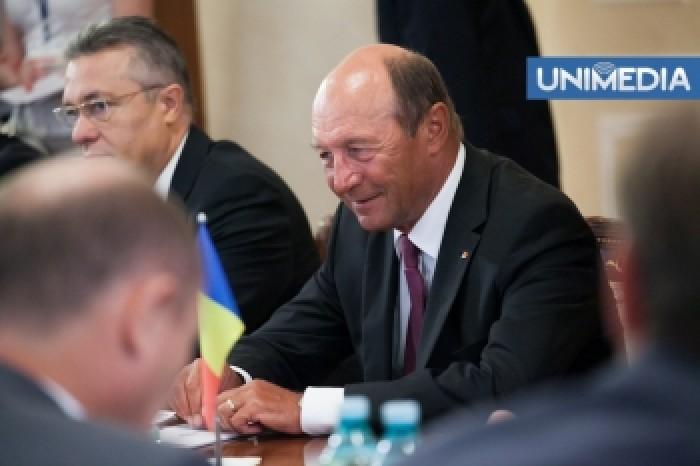 (video) Băsescu îi răspunde lui Rogozin