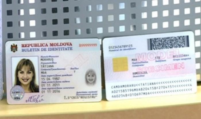 Din martie 2014 moldovenii vor putea utiliza buletinul de identitate electronic