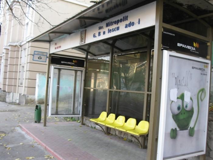 (video) Chirtoacă vrea stații de așteptare din materiale anti-vandal