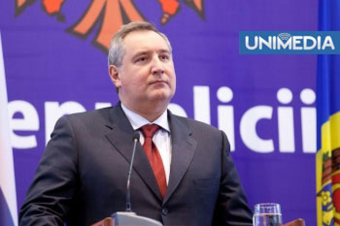 Chișinăul a intervenit în agenda lui Rogozin
