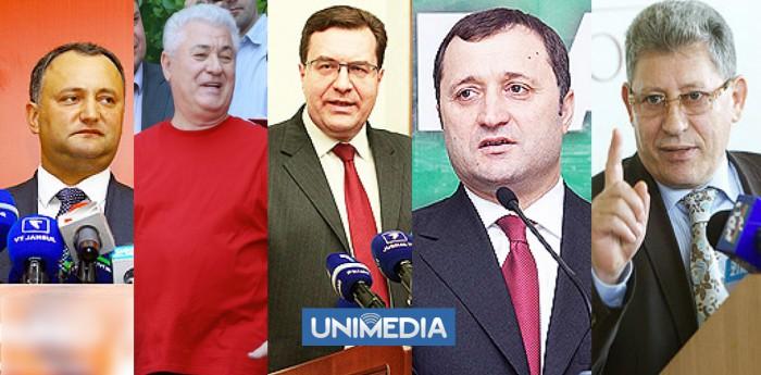 Cum au votat cetățenii din localitățile de origine a lui Filat, Voronin, Dodon, Ghimpu și Lupu