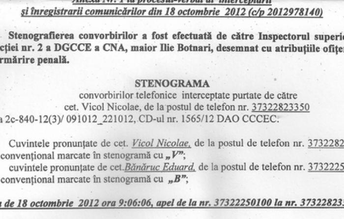 """(doc) Materiale din """"dosarul interceptărilor"""", publicate pe Internet"""