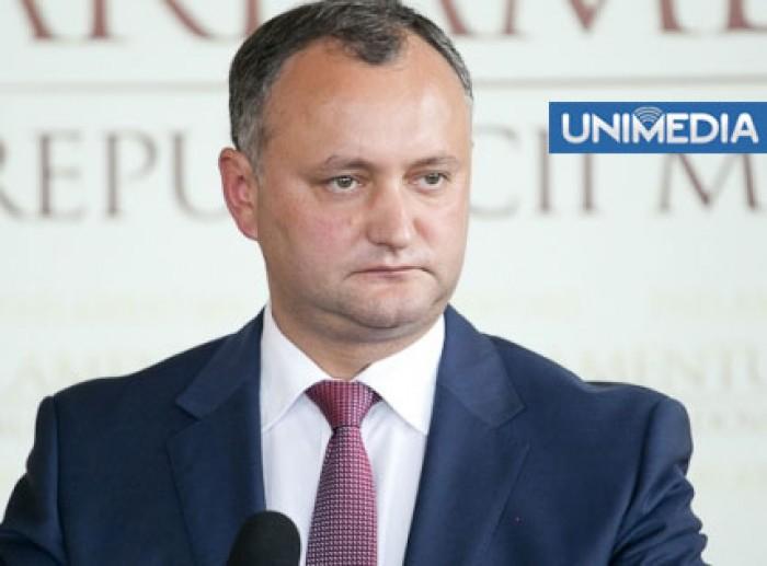 (video) Dodon îl învinuiește pe Timofti de protecționism al judecătorilor