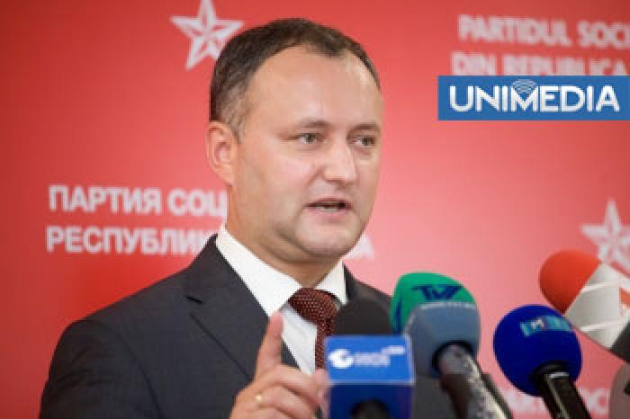 Dodon: Tkaciuk contribuie la formarea AIE-3