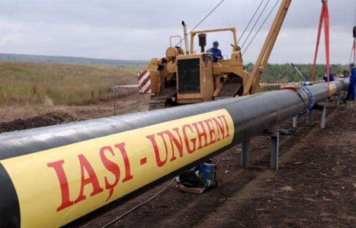 Două conducte cu o lungime totală de 169 de kilometri urmează să fie conectate la gazoductul Iași-Ungheni