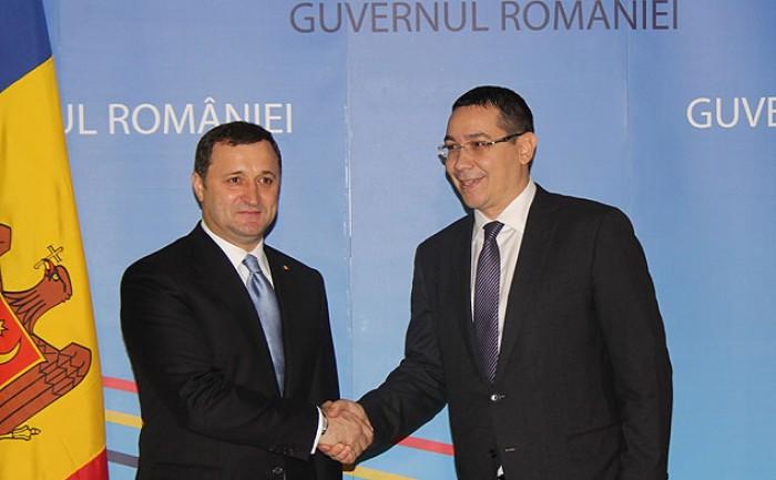 Filat și Ponta în discuții despre gazoductul Iași-Ungheni