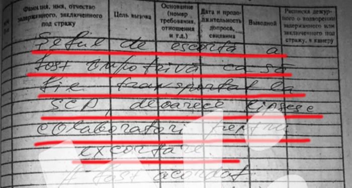 (foto) Șeful de escortare al IGP ar fi refuzat să-l transporte pe deținutul Andrei Brăguța la Spitalul Clinic de Psihiatrie. Motivul: lipseau angajații de escortare