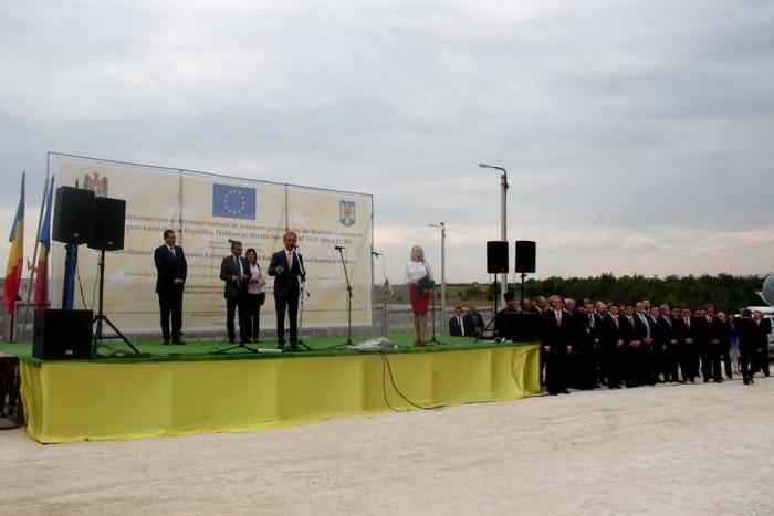 A fost inaugurat gazoductul Iași-Ungheni! De la 1 septembrie gazul românesc va trece Prutul