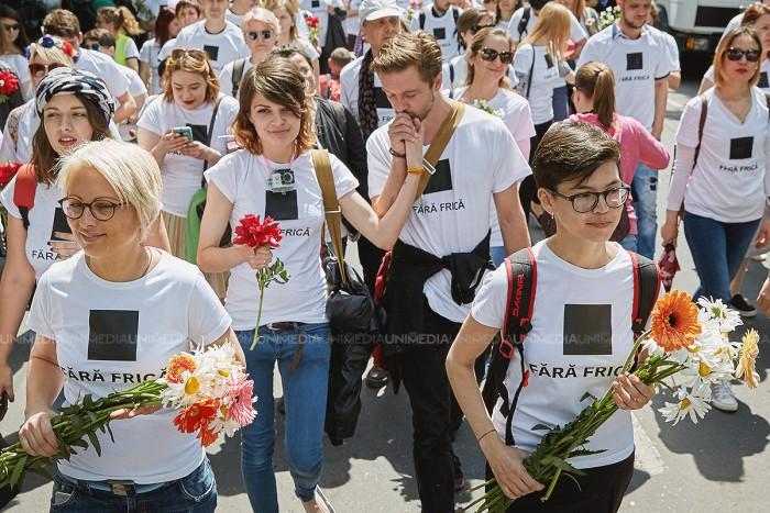 """(galerie foto) Marșul """"Fără frică"""", în imagini"""