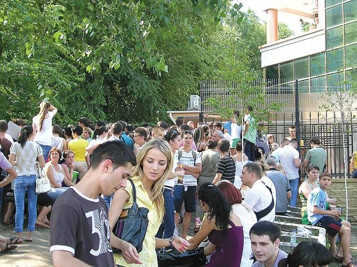 Care este graficul de admitere pentru studii în România