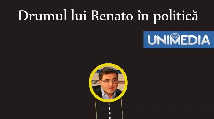 (infografic) Drumul lui Renato Usatîi în politică
