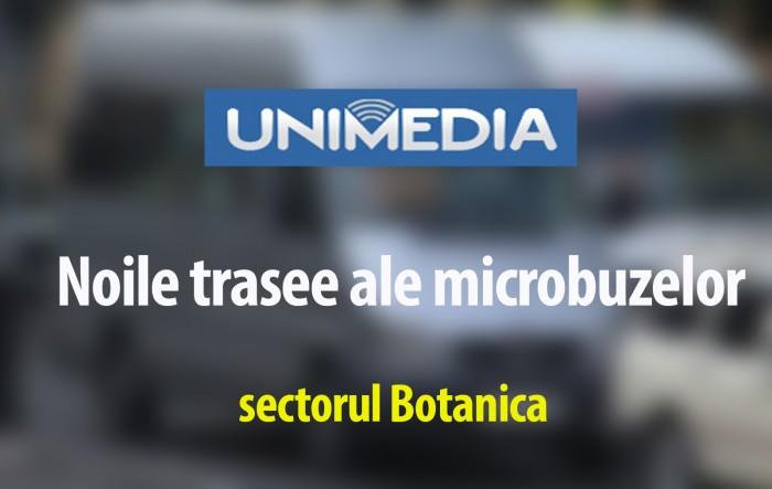 INFOGRAFIC: Microbuzele care leagă suburbiile de sectorul Botanica