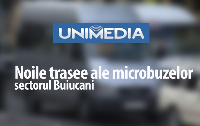 INFOGRAFIC: Noile trasee ale microbuzelor care trec prin sectorul Buiucani