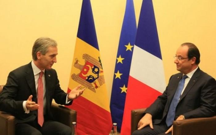Iurie Leancă se întâlnește astăzi cu François Hollande