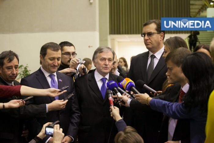 """(video) Liderii coaliției de guvernare la Vilnius: """"Am trăit emoții puternice de mândrie și împlinire"""""""