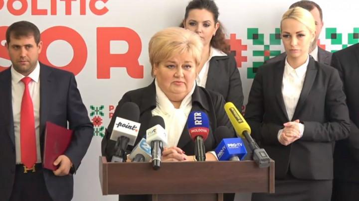 (video/doc) Reghina Apostolova promite chișinăuienilor pensii mai mari și indemnizații la nașterea copilului de până la 10 mii de lei. Programul electoral