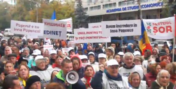 (video) Protest în fața Curții Supreme de Justiție: Mâinile jos de pe Inna Popenco
