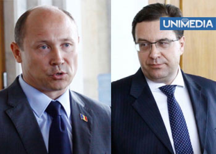 Lupu și Streleț, puși pe gânduri de decizia de la Tiraspol
