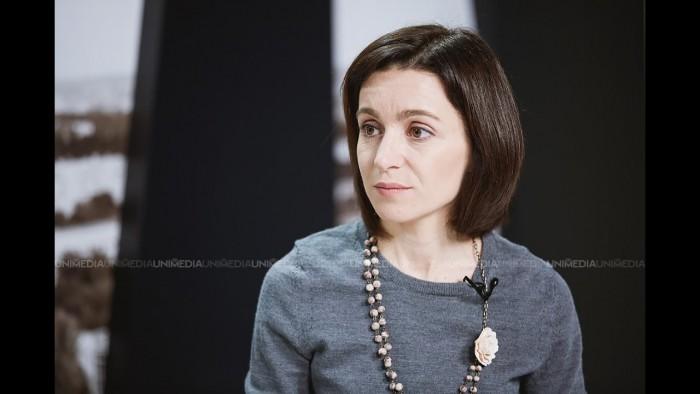 Maia Sandu, către Vlad Plahotniuc: PD vrea să aducă politicienii mai aproape de alegători. Îi sugerez să înceapă de la propria lui persoană
